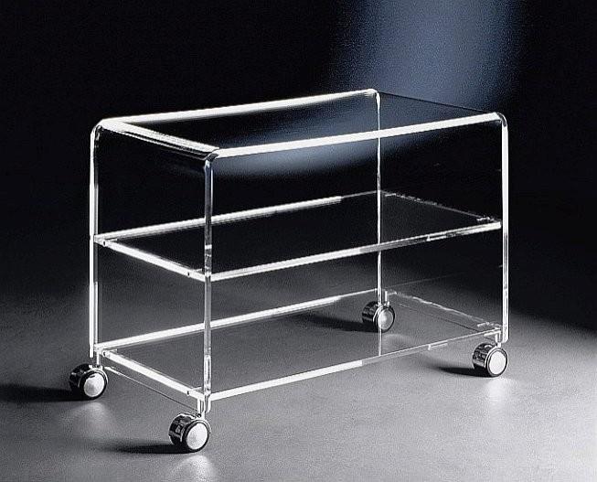 tv wagen aus acrylglas rd acrylm bel tv wagen. Black Bedroom Furniture Sets. Home Design Ideas