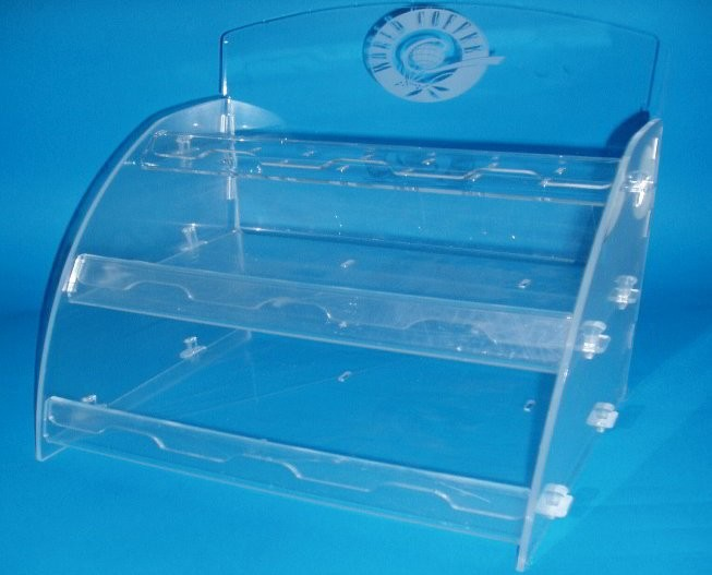 Ladenbau - Acrylglas - Präsentationsdisplays, Prospektständer, Infowände, POS Artikel