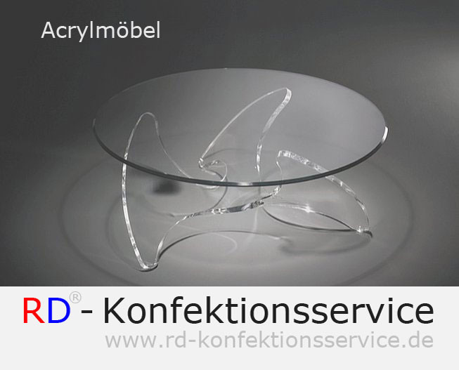 RD Acrylmöbel | Couchtisch